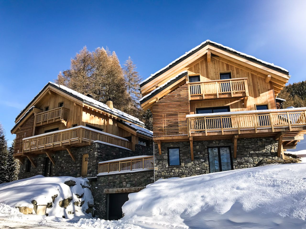 natural lodge la plagne agence montagne