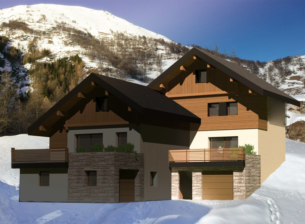 chalet construction 2 valloire