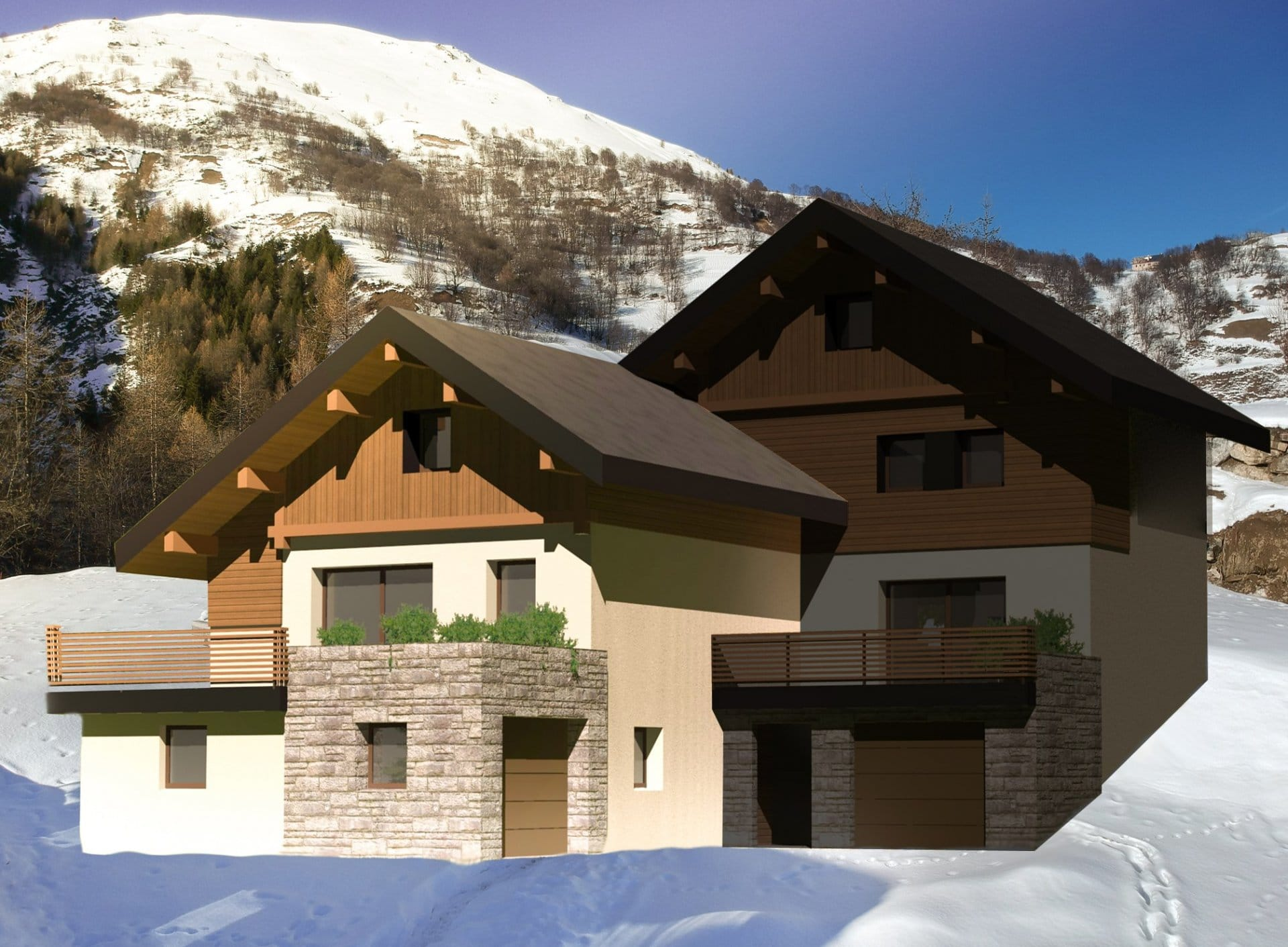 chalet construction valloire