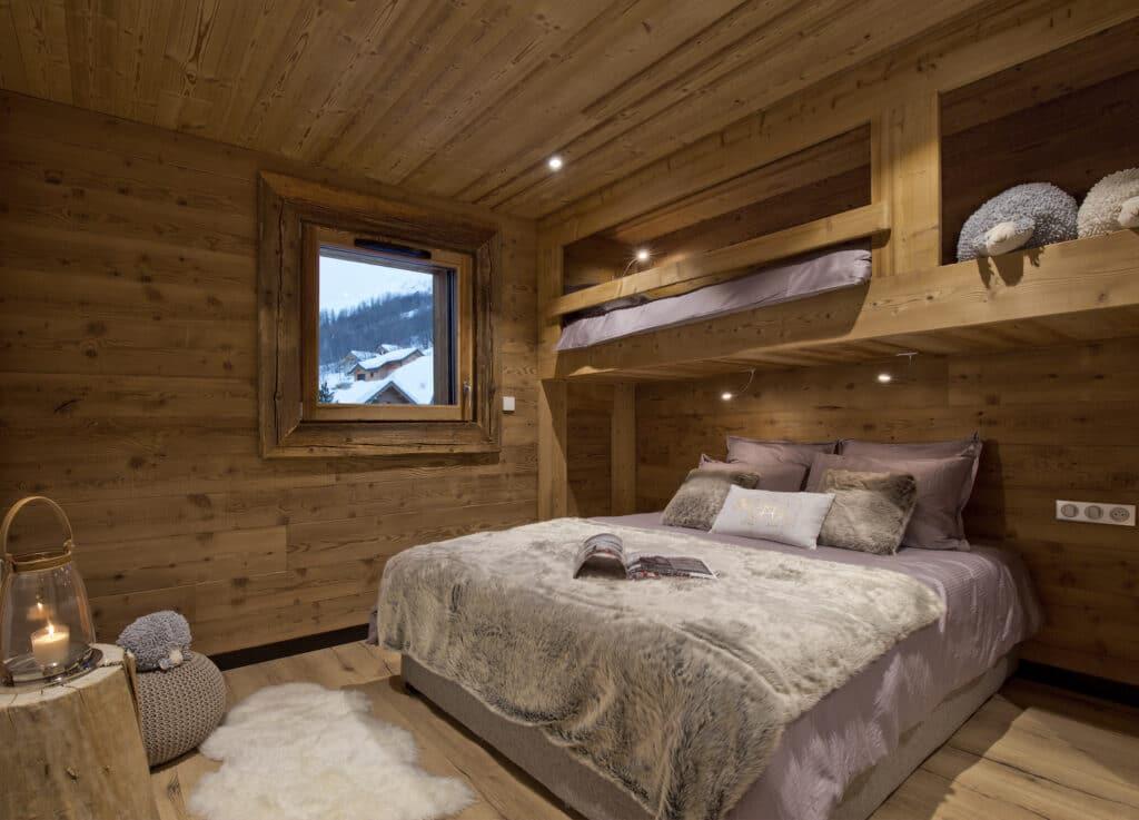 chambre chalet montagne